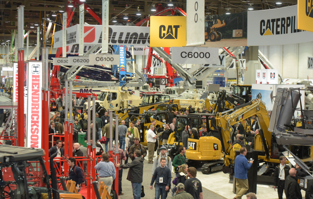 central-hall-exhibits World of Concrete