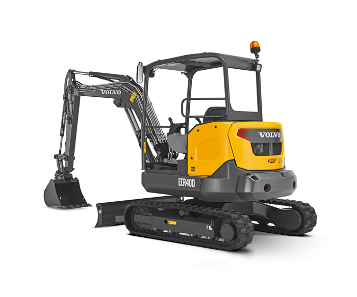 Dig This: Volvo CE Debuts New Compact Excavators