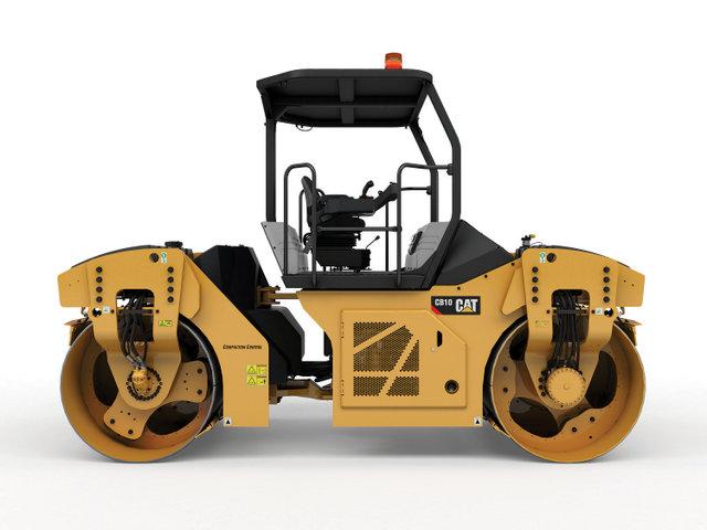 Cat asphalt compactor studio