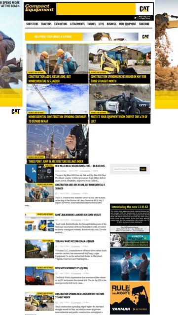 Compact Equipment Website