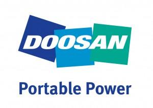 Doosan Portable Power Vertical Logo