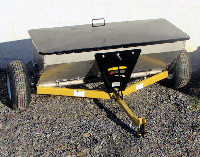 Check Out These Conestoga Stainless Steel Drop Spreaders