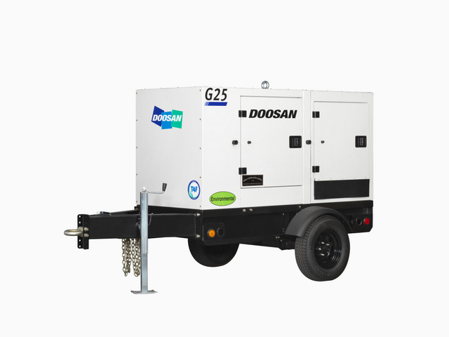 Doosan Portable Power Introduces Generators with Doosan Engines at Power-Gen 2015