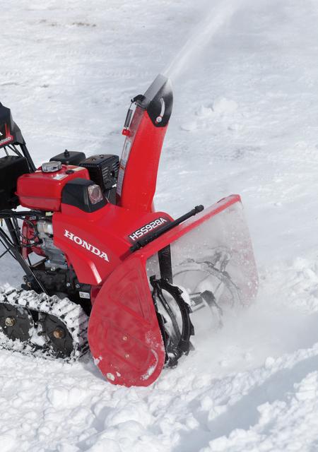 Honda snow thrower