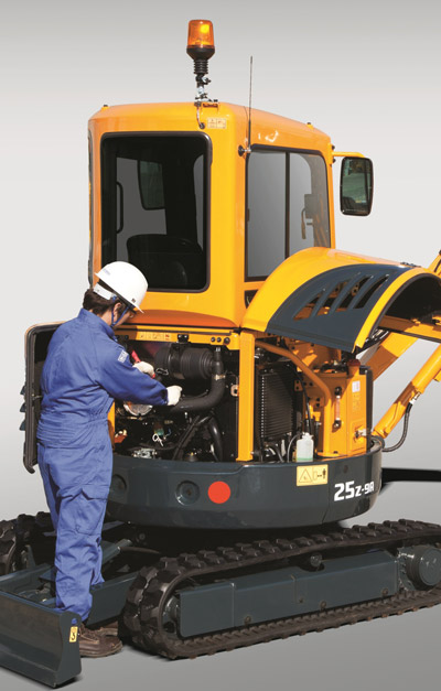Keys to compact excavator maintenance and longevity
