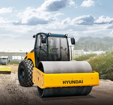 Hyundai compaction roller 2