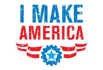 I make america logo