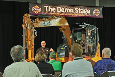 The coolest innovations will be unveiled at the ICUEE Demo Stage,  sponsored by Benjamin Media Inc.