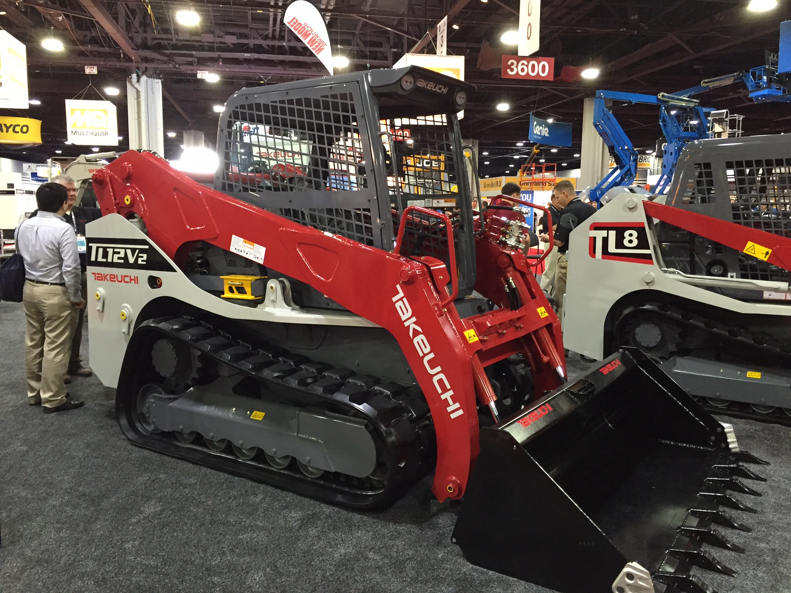 Takeuchi track loader rental show