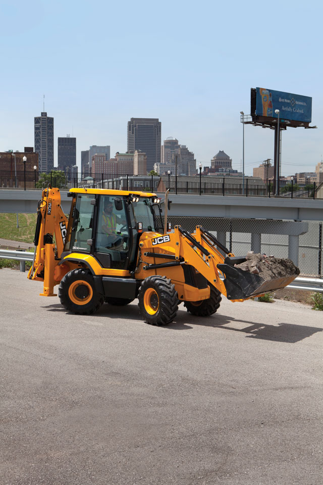 Innovative Iron Award: JCB's 3CX Backhoe Loader