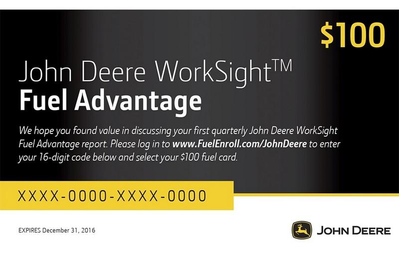 John Deere WorkSight Fuel Advantage Program Designed to Improve Operational Efficiency