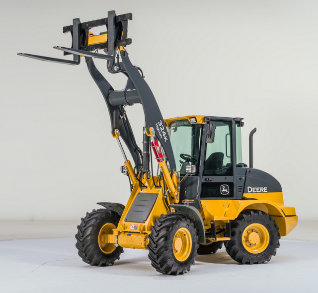John deere wheel loader studio