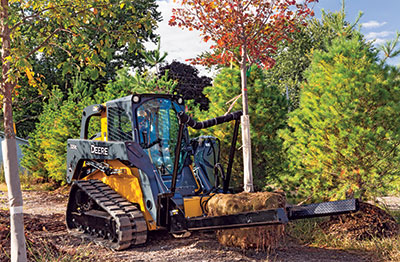 Track loaders actually outpaced wheeled skid steers in 2015 at a volume of 40,000-plus units sold.