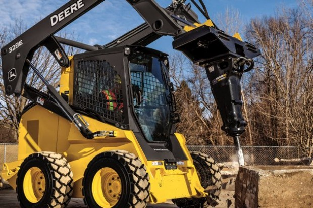 John Deere Introduces New Hydraulic Hammers