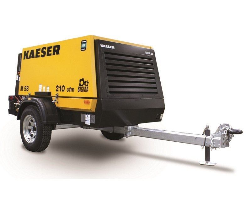 Kaeser Announces a New Portable Air Compressor — the M58