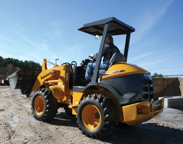 Editor's Message: We Visit KCMA Corp. Out in Arizona to Operate Wheel Loaders