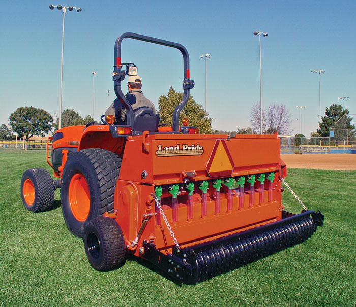 Plan on spending about $1,200 per foot on a seeder, considerably more for an over-seeder because of their precision.