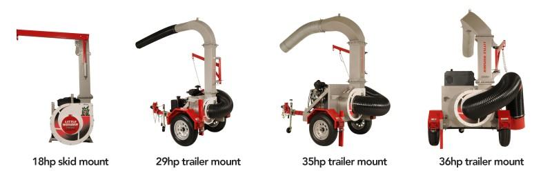 Little Monster TruckLoader Lineup
