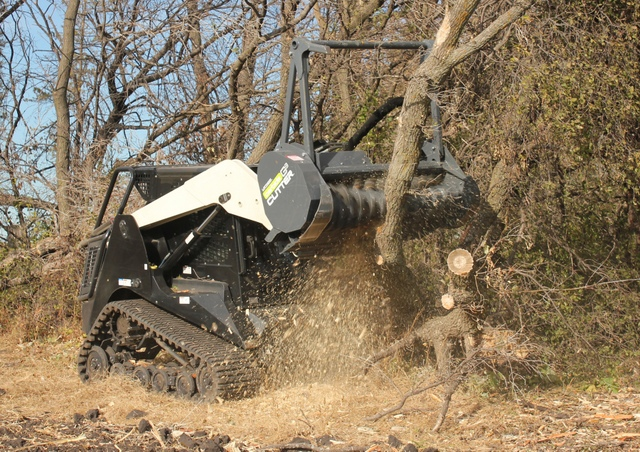 For the cutter itself, there is a tooth for any application — from working around rocky conditions to specifically cutting down trees.