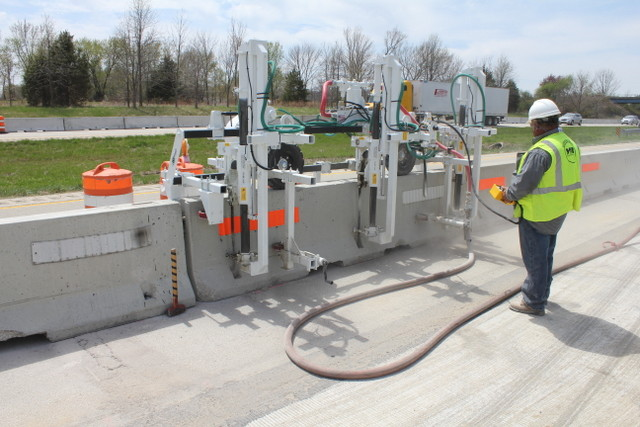 WATCH: See Minnich's new concrete barrier wall drill in action