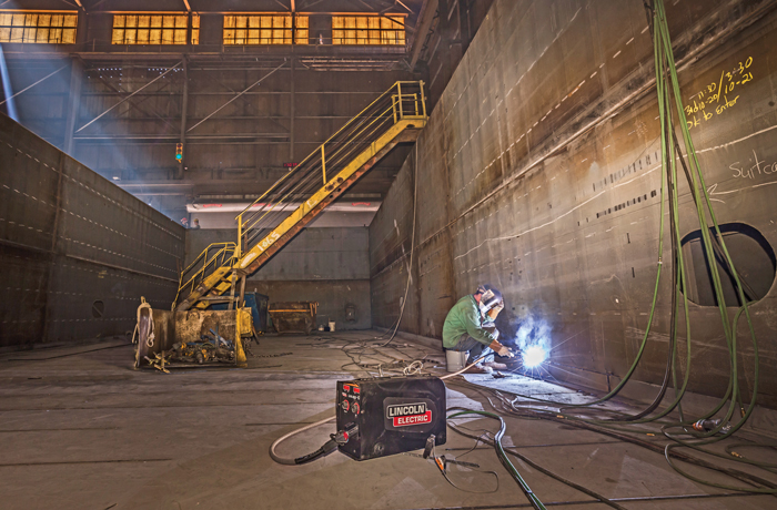 Advances in Point-of-Use Controls and Portability Drive Commercial Construction Welding