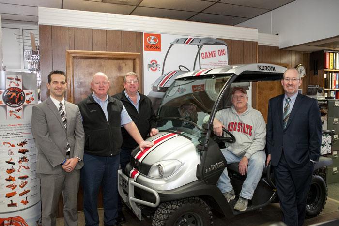 Friday Fun: Ohioan Wins Customized Kubota Utility Vehicle in Buckeye Kubota Dealers RTV500 Giveaway