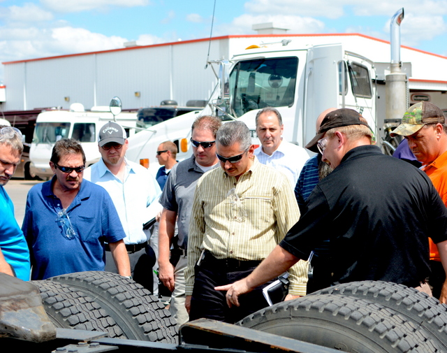 Property Damage Appraisers Certifies all Franchisees at Heavy Equipment School