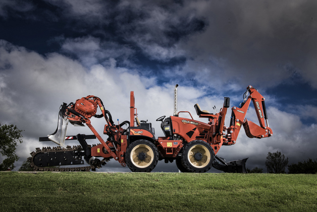 Ditch Witch RT80 ride-on trencher