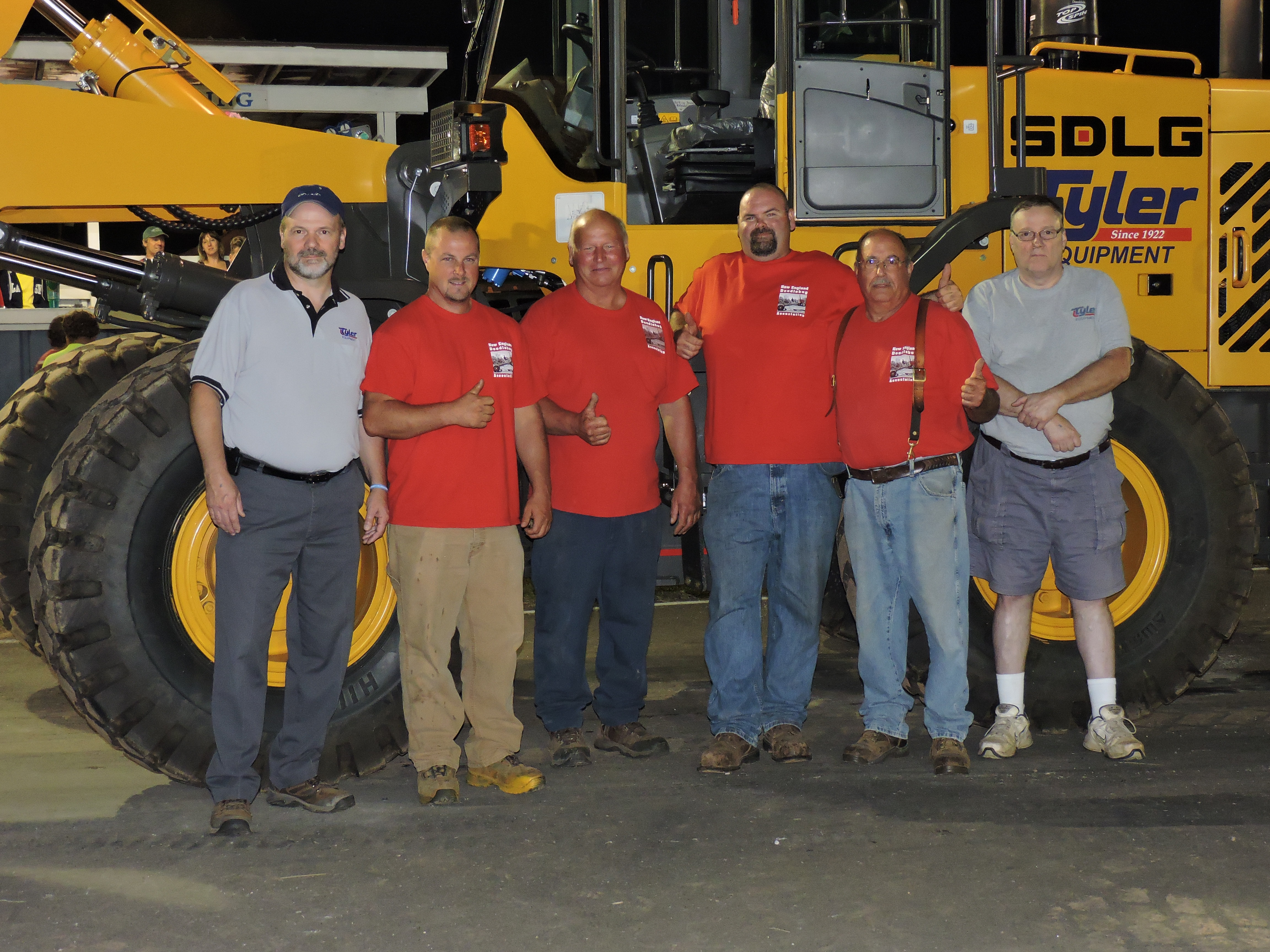 Tyler Equipment offers SDLG in New England