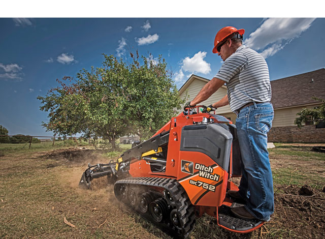 Innovative Iron Award: The Ditch Witch SK752 Mini Skid Steer