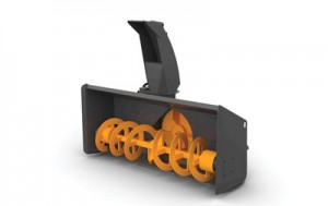 Most snow blowers range in size from 4 to 8 ft, and they can throw snow up to 45 ft.