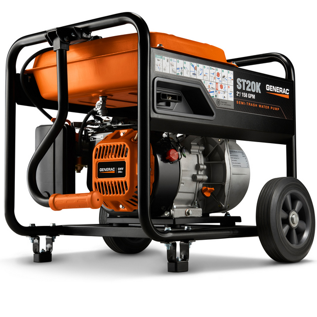 New Generac Water Pump Designs Take the Sting Out of Spring Flooding