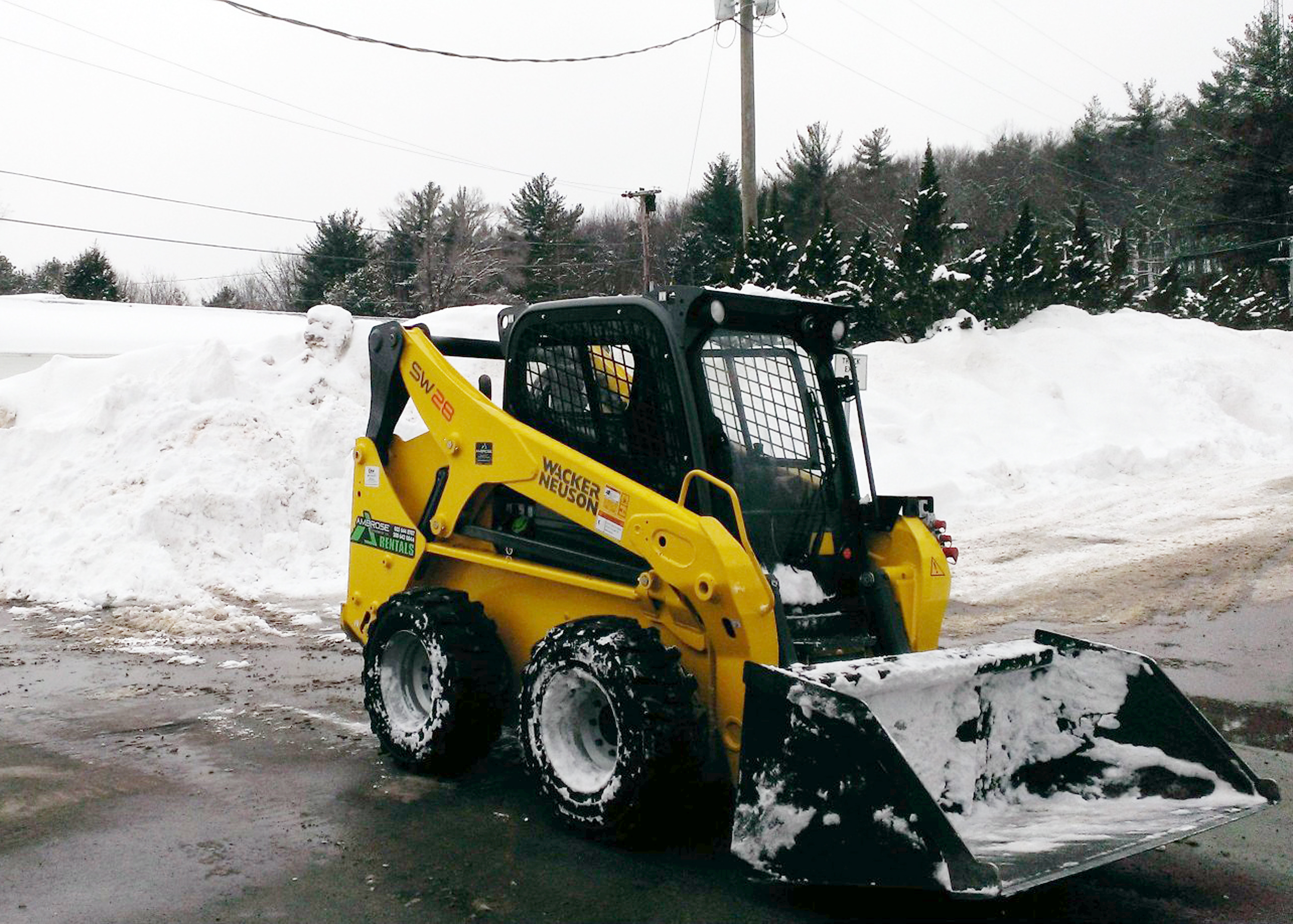 Prepare Your Skid Steer And Track Loader For Winter Work