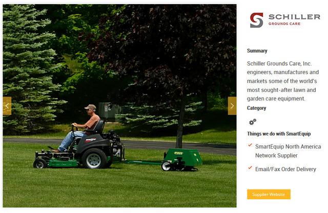 Schiller SmartEquip Supplier Page