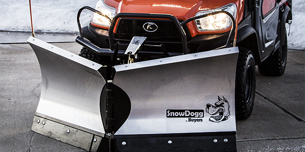 Buyers Products Introduces SnowDogg VUT65 Plow for Utility Vehicles