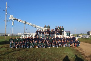 More than 40 participants from around the globe made their way to South Dakota for a Terex Utilities hands-on training event.
