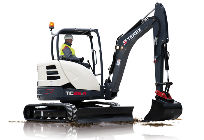 Terex Introduces Four 'Rental-Ready' Compact Excavator Models