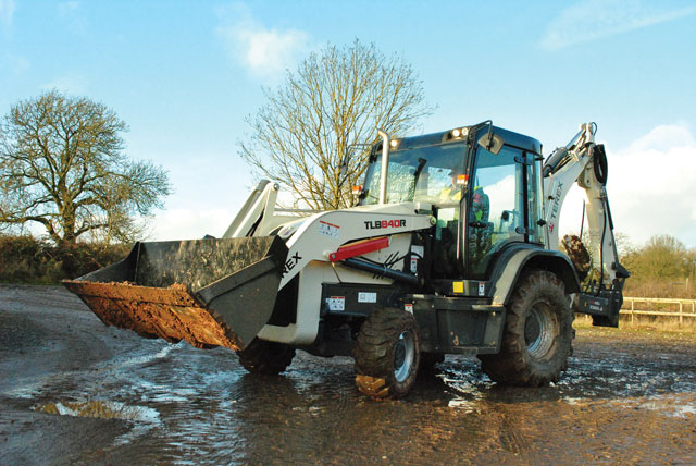 Innovative Iron Award: Terex TLB840R Backhoe Loader