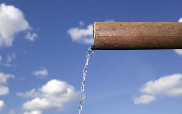 pipe water sky