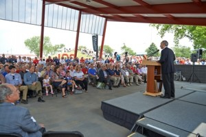 July 10, 2014 was Toro Day in Minnesota honoring the company's 100th anniversary.