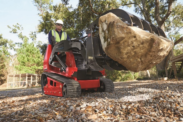 Dang, Toro Offers Over 30 Compact Tool Carrier Attachments