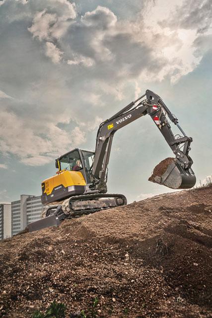 Innovative Iron Award: Volvo's EC60E Compact Excavator
