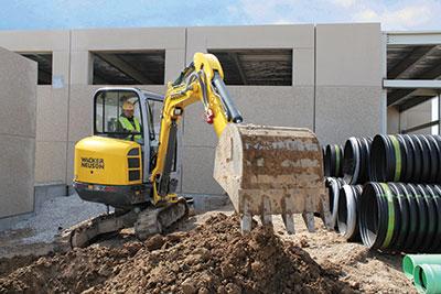 Wacker-Neuson-excavator