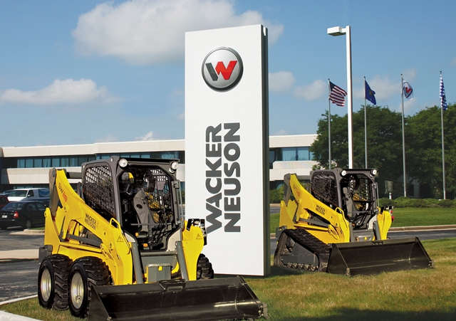 Starting in the first quarter of 2015, Wacker Neuson will begin production of its SW24 and SW28 skid steers and the ST35 and ST45 compact track loaders in Wisconsin.