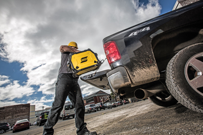 For light-duty applications, OEMs are now introducing true multiprocess systems that allow for excellent portability around the jobsite — like ESAB's recently introduced Rebel EMP 215ic.