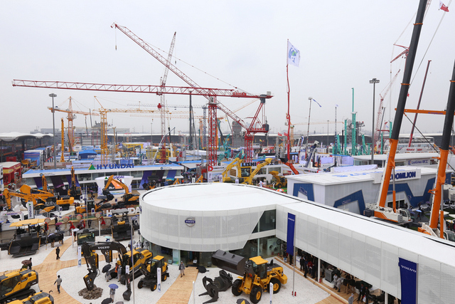 Preparations are underway for bauma China (check it out)