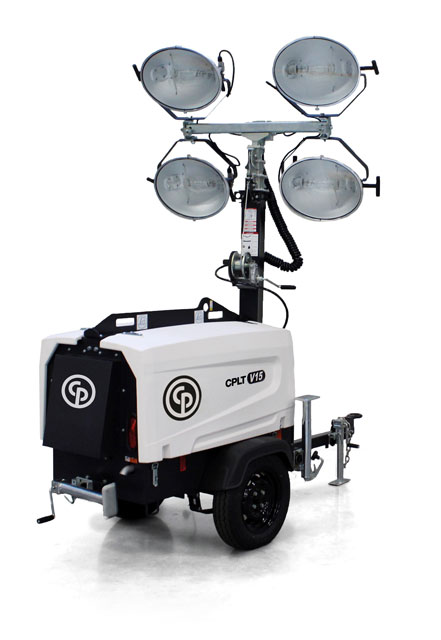 Chicago Pneumatic Launches Versatile New Light Tower