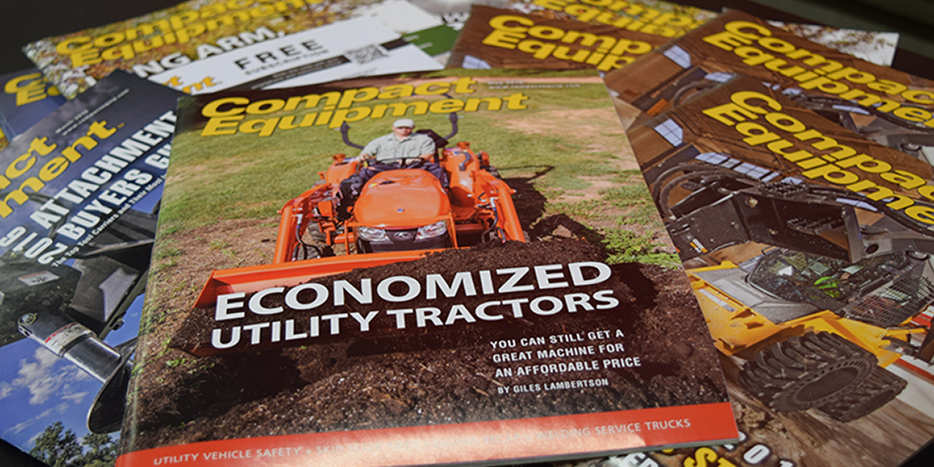 Be So Kind as to Renew Your 2021 Subscription for 10 More FREE Print Issues of Compact Equipment