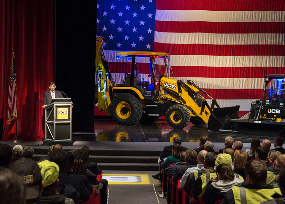 JCB Honored with AEM's Pillar of the Industry Award