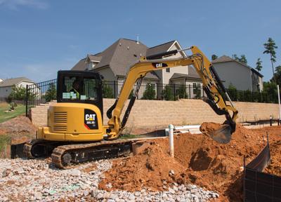 Cat E2 Series Mini Hydraulic Excavators